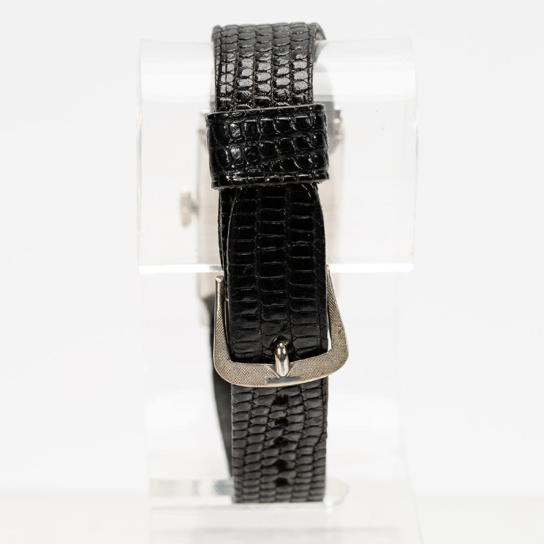 Hamilton Platinum & Diamond Wrist Watch - 3