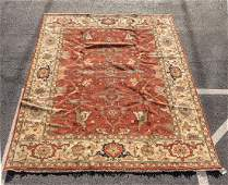 Hand Woven Persian Kazak Rug or Carpet, 9' x 12'
