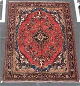 Hand Woven Hamedan Rug or Carpet 7 1 x 10 2
