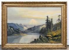 Manner of C.L. Heyde, O/C Landscape Scene