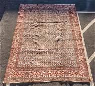 """Hand Woven Turkish Nain Rug, 11' 6"""" x 8' 4"""""""