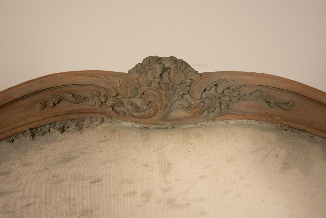 Louis XV Style Curved Walnut Settee - 3