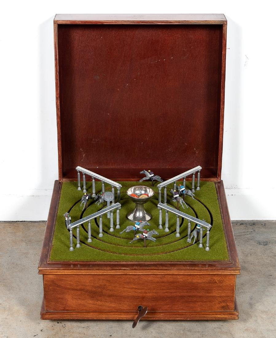 Petits Chevaux Mechanical Horse Racing Game