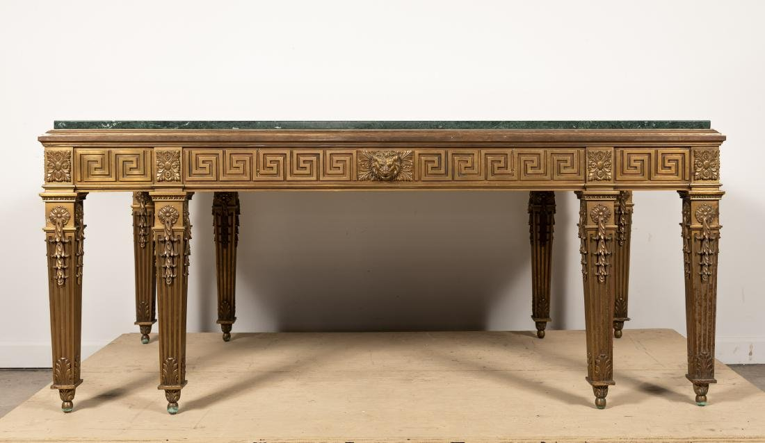 George II Style Marble Top Table, William Kent