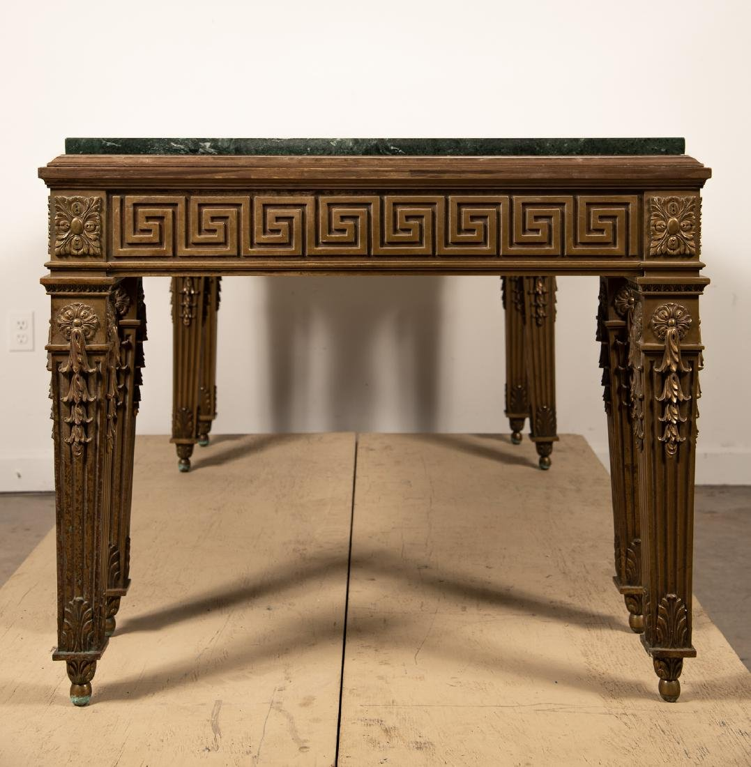 George II Style Marble Top Table, William Kent - 3