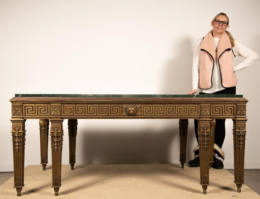 George II Style Marble Top Table, William Kent - 4