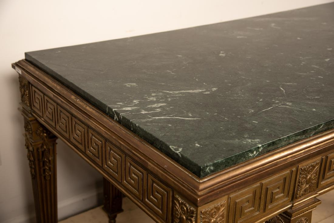 George II Style Marble Top Table, William Kent - 5