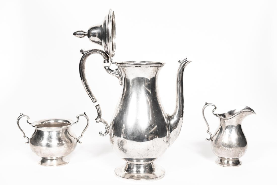 Fisher Three Piece Sterling Tea Set - 3