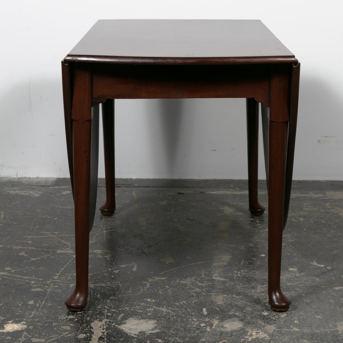 18th C. English Mahogany Drop Leaf Table - 4