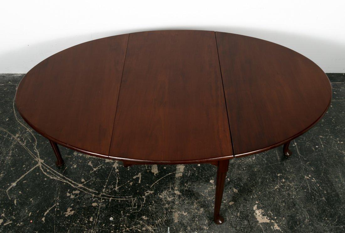 18th C. English Mahogany Drop Leaf Table - 6