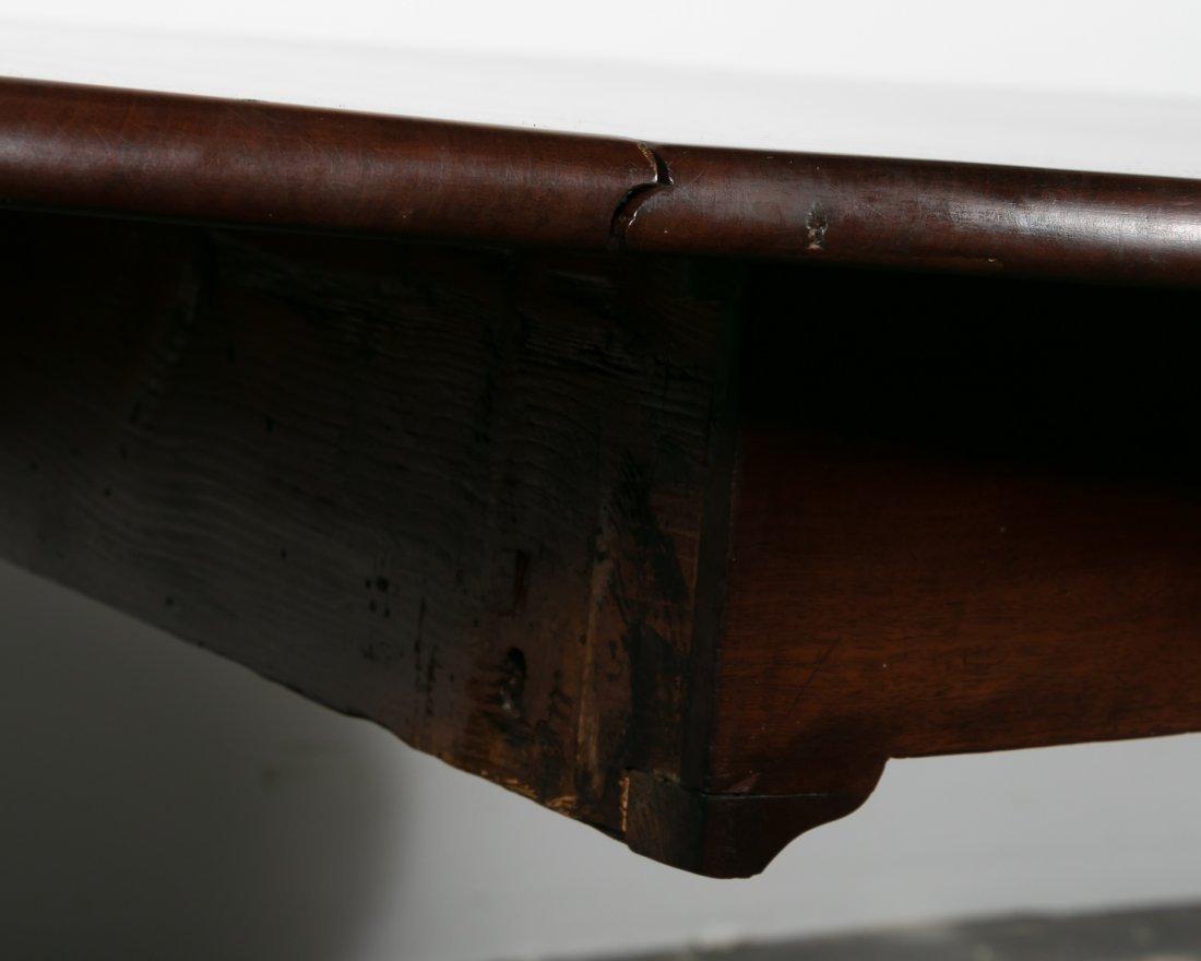 18th C. English Mahogany Drop Leaf Table - 8