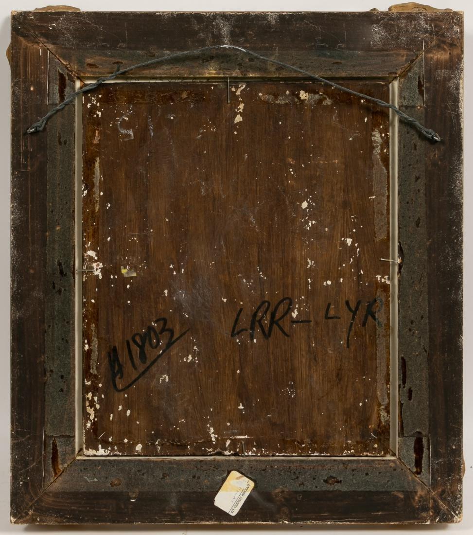 Oil on Wood Panel, Genre Scene - 2