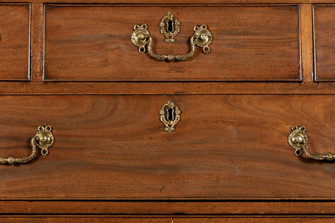 E. 19th C. English Mahogany Chest on Chest - 6