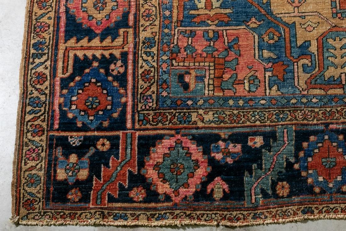 "Hand Woven Heriz Rug or Carpet, 9' 7"" x 12' - 3"