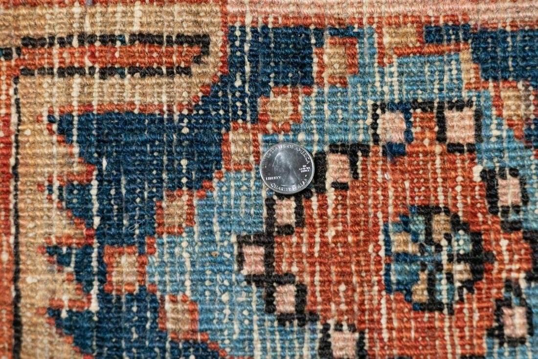 "Hand Woven Heriz Rug or Carpet, 9' 7"" x 12' - 5"