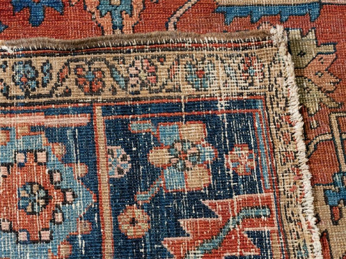 "Hand Woven Heriz Rug or Carpet, 9' 7"" x 12' - 6"
