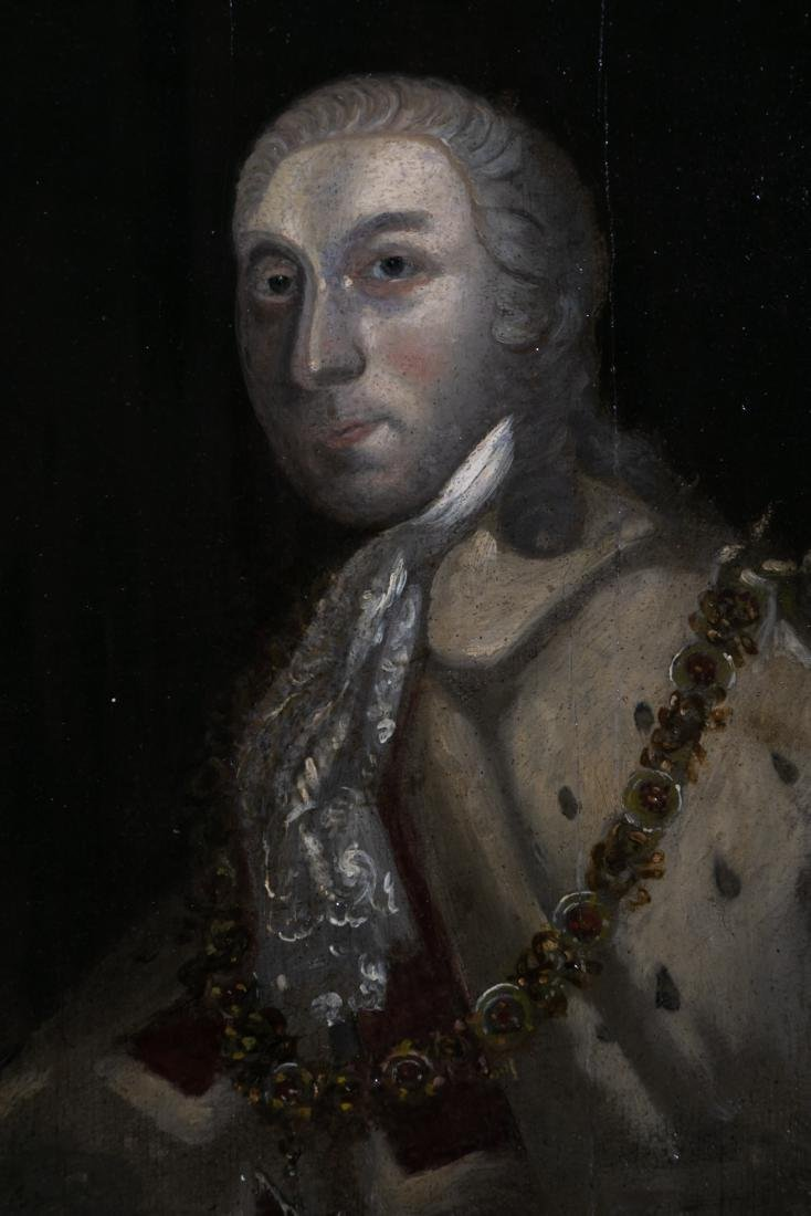 18th C. Irish School Portrait of a Lord in Ermine - 2