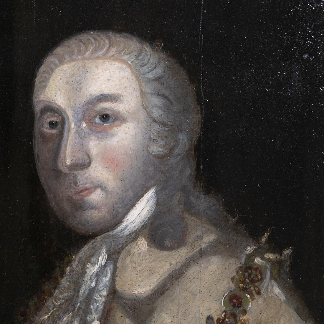18th C. Irish School Portrait of a Lord in Ermine - 3