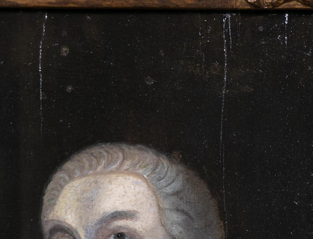 18th C. Irish School Portrait of a Lord in Ermine - 4