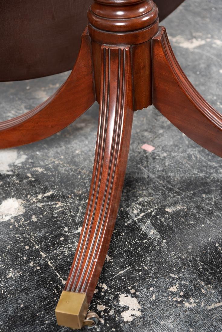Regency Style Tilt-Top Mahogany Breakfast Table - 6