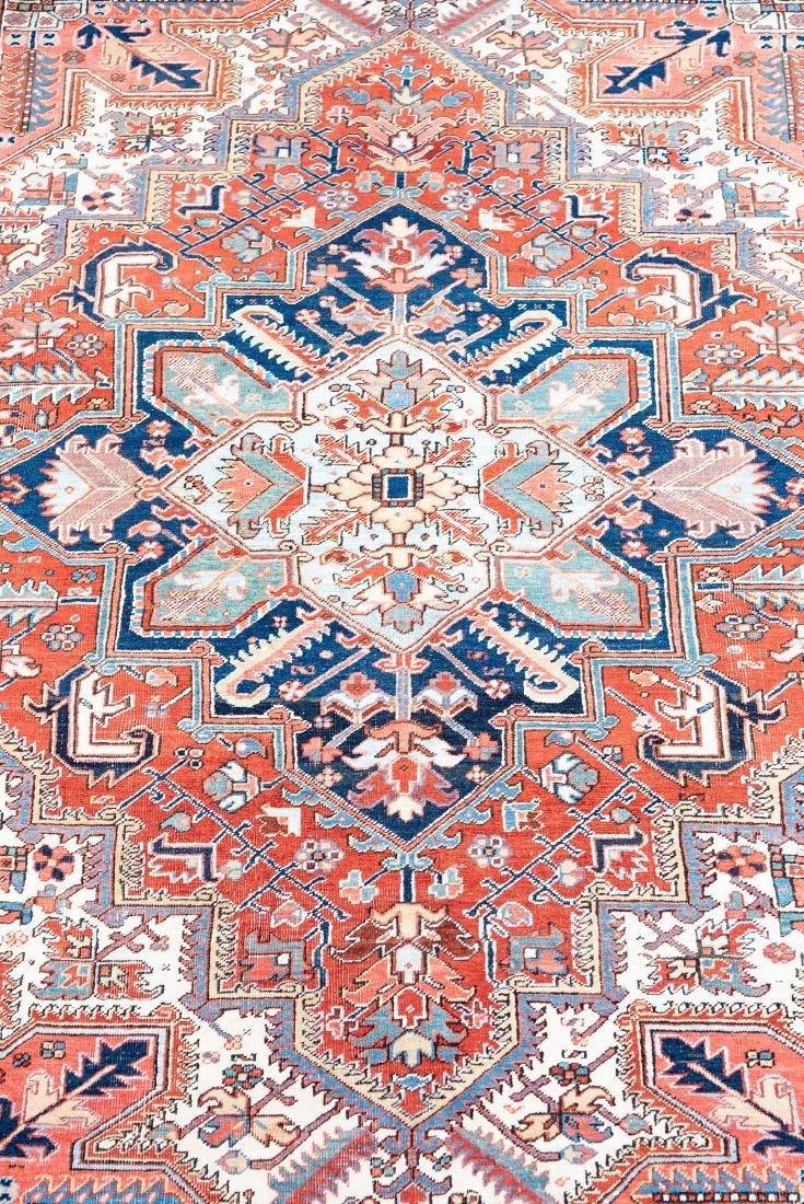 "Hand Woven Heriz Rug or Carpet, 7' 10"" x 11' 1"" - 2"