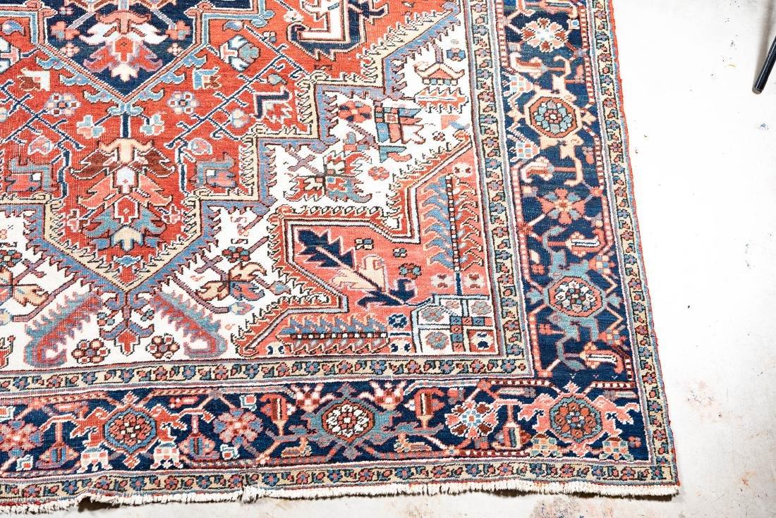 "Hand Woven Heriz Rug or Carpet, 7' 10"" x 11' 1"" - 3"