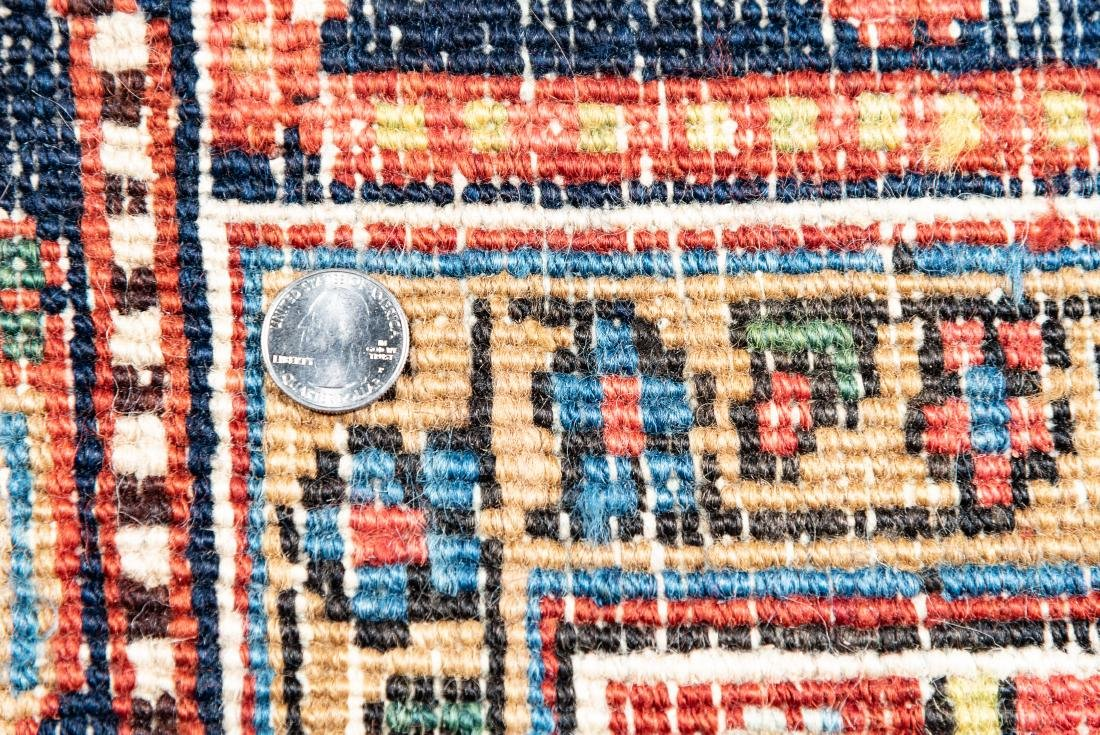 "Hand Woven Heriz Rug or Carpet, 7' 10"" x 11' 1"" - 4"