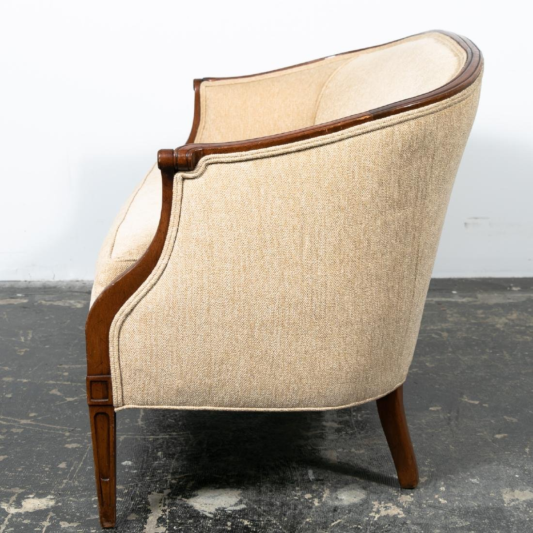 Hepplewhite Style Upholstered Settee, 20th Cent. - 3