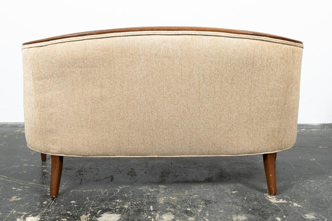 Hepplewhite Style Upholstered Settee, 20th Cent. - 4