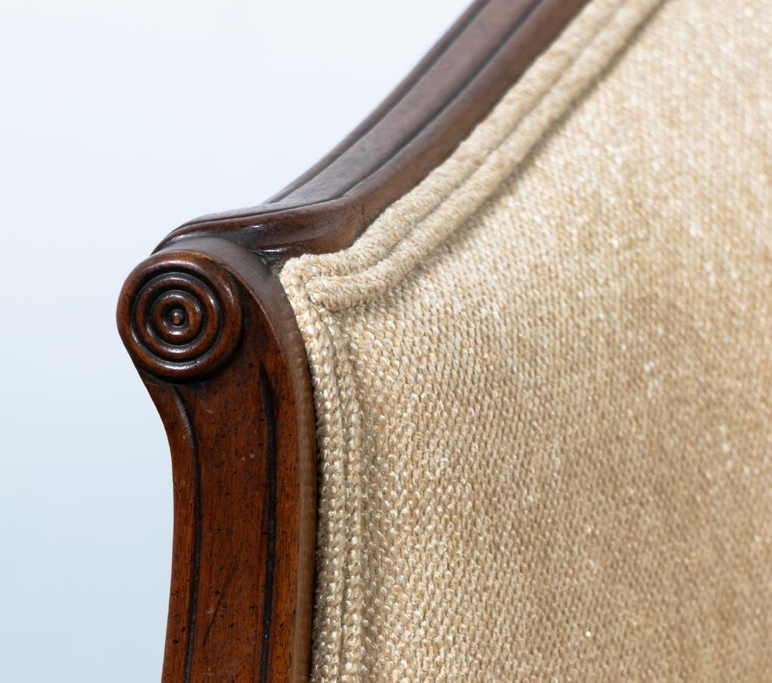 Hepplewhite Style Upholstered Settee, 20th Cent. - 6