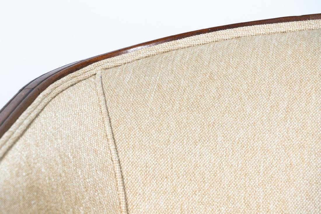 Hepplewhite Style Upholstered Settee, 20th Cent. - 7