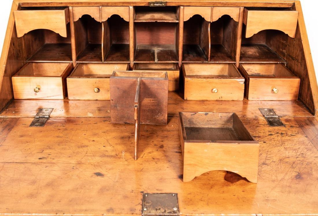 American Drop Front Secretary Desk, C. 1780-1820 - 6