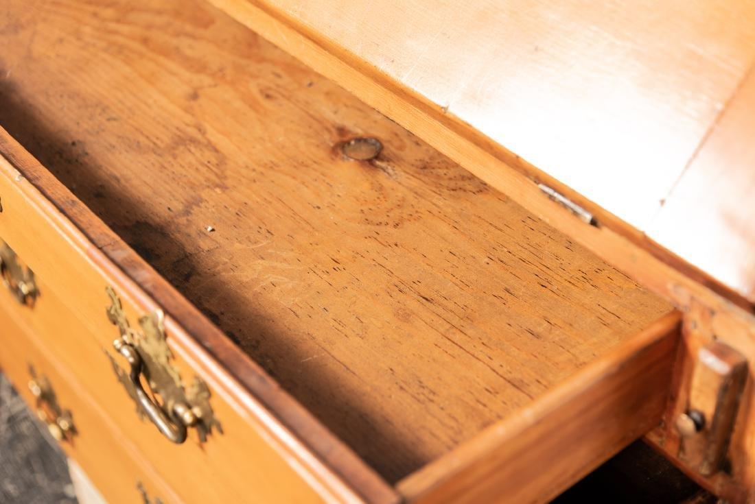 American Drop Front Secretary Desk, C. 1780-1820 - 7