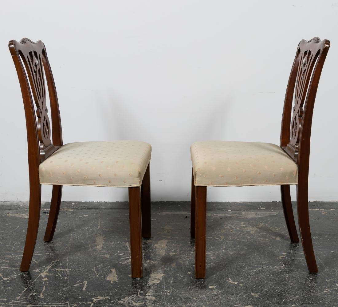 Pair, 20th C. Mahogany Side Chairs - 2