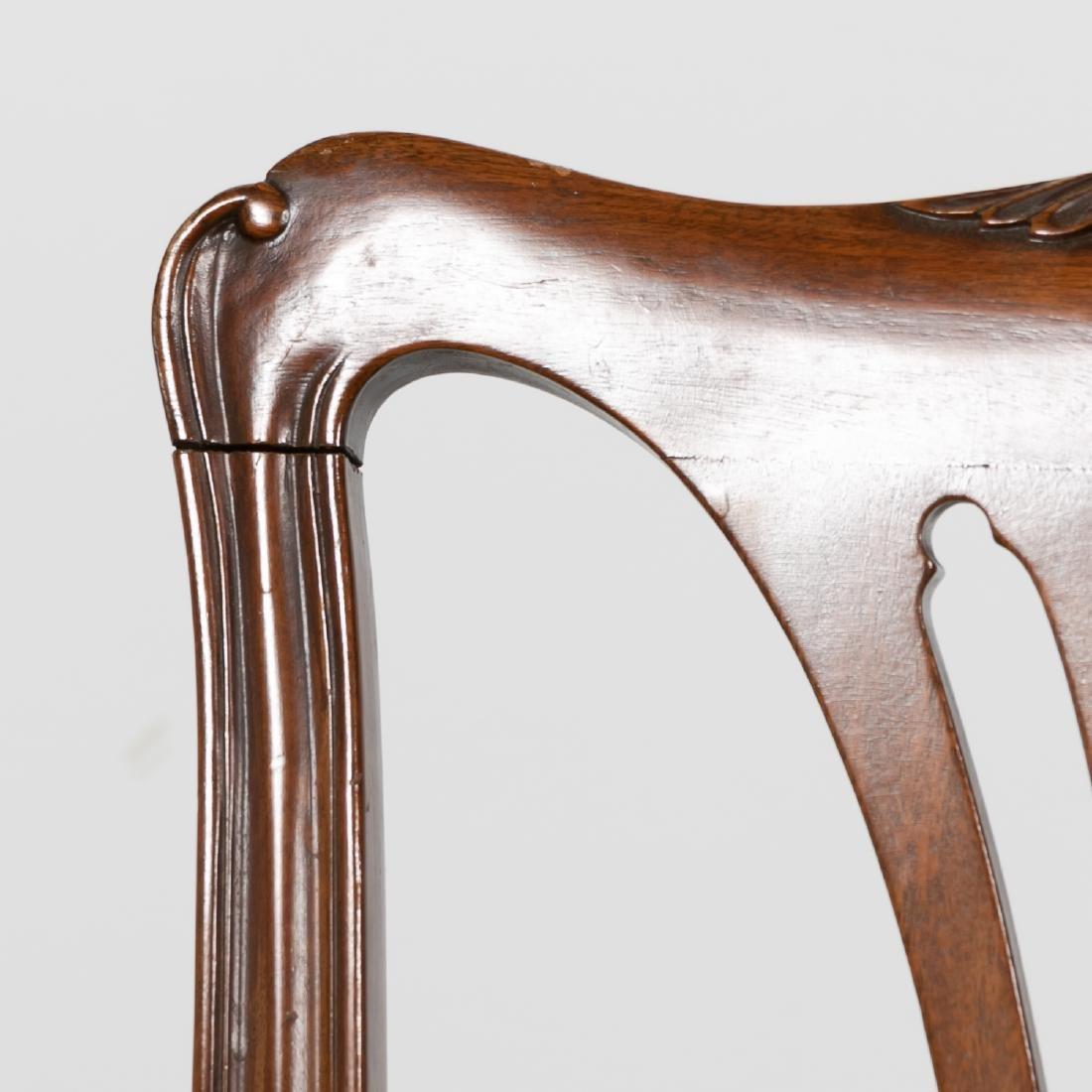 Pair, 20th C. Mahogany Side Chairs - 5