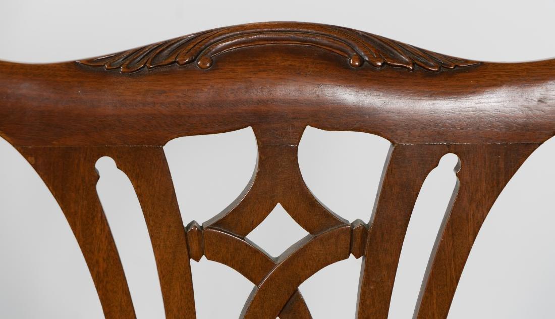 Pair, 20th C. Mahogany Side Chairs - 6