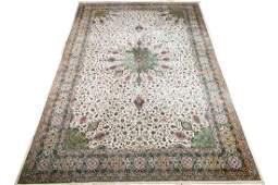 Palatial Hand Woven Tabriz Rug, 13' x 20'