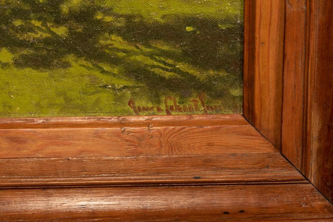 "James C. Smith ""Green Meadows"" Oil on Board - 4"