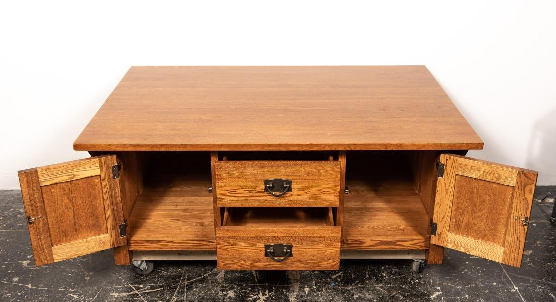 Stickley Style Arts & Crafts Coffee Table - 4