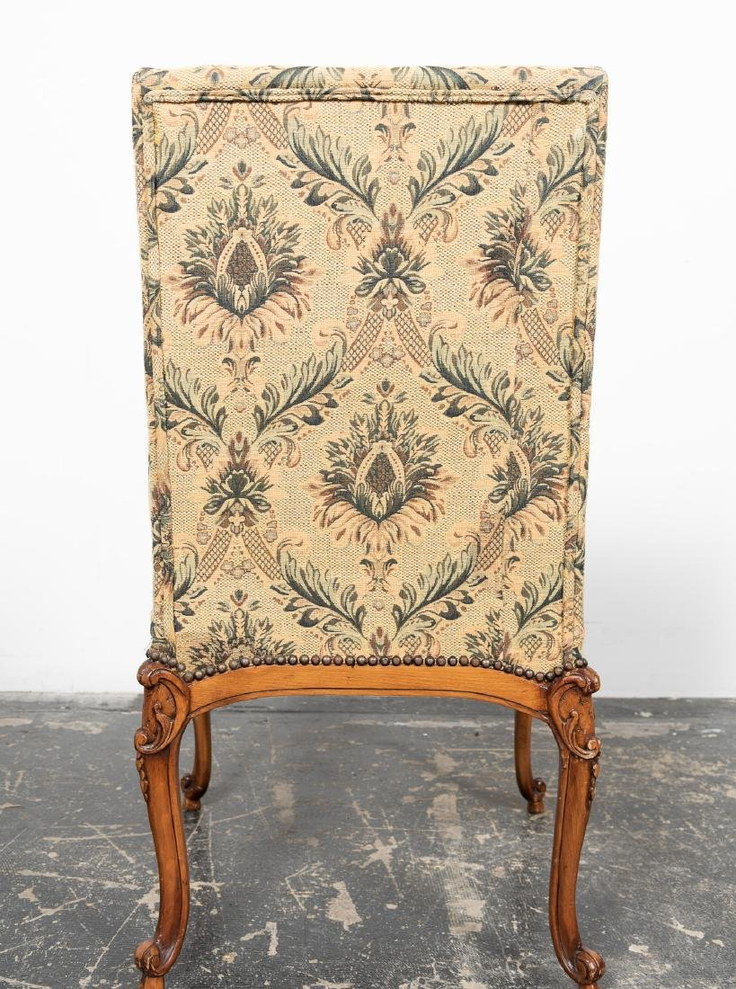 Ten Louis XIV Style Upholstered Dining Chairs - 2