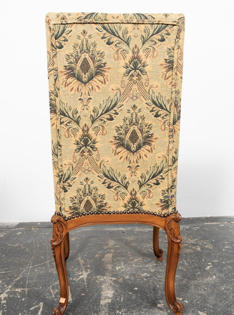 Ten Louis XIV Style Upholstered Dining Chairs - 3
