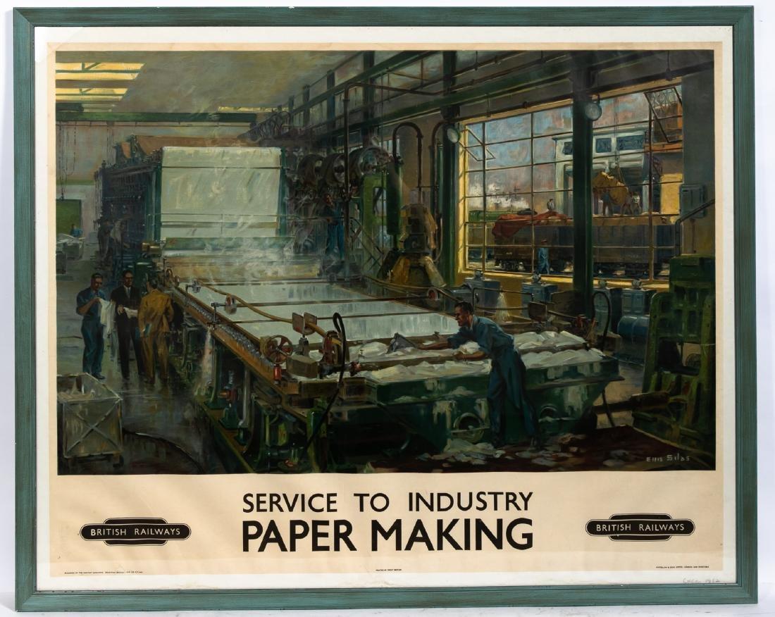 """Ellis Silas """"British Railways; Paper Making"""", 1952"""