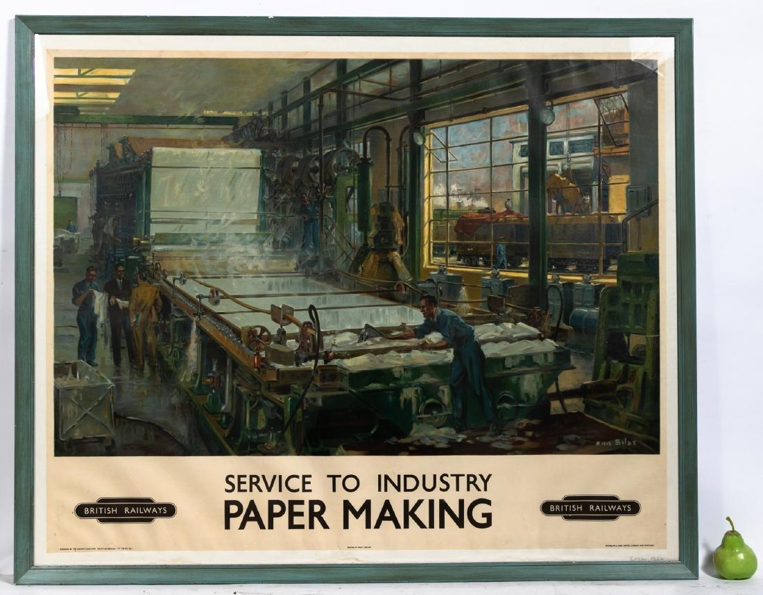 """Ellis Silas """"British Railways; Paper Making"""", 1952 - 2"""