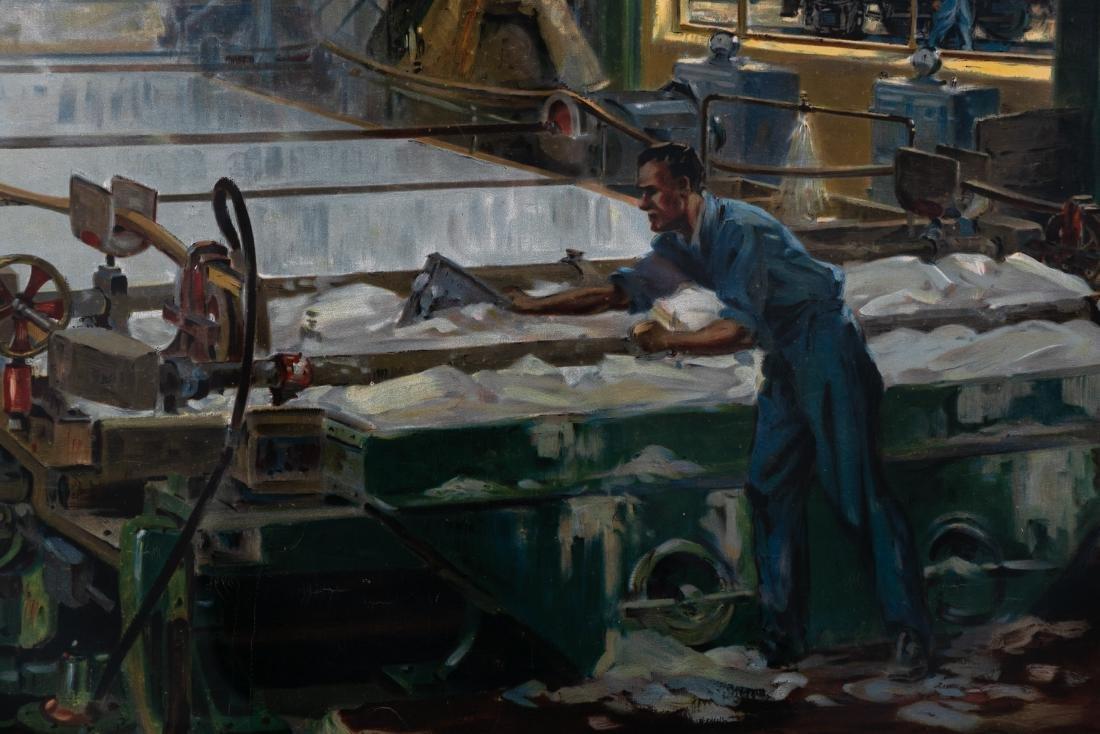 """Ellis Silas """"British Railways; Paper Making"""", 1952 - 4"""