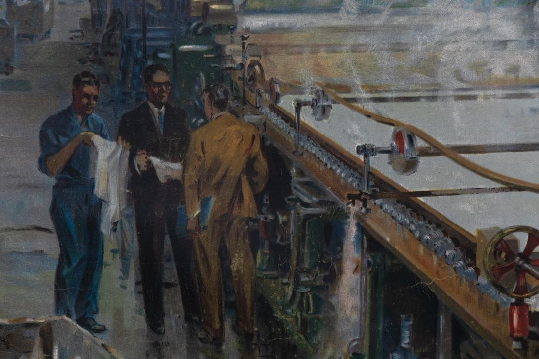 """Ellis Silas """"British Railways; Paper Making"""", 1952 - 5"""