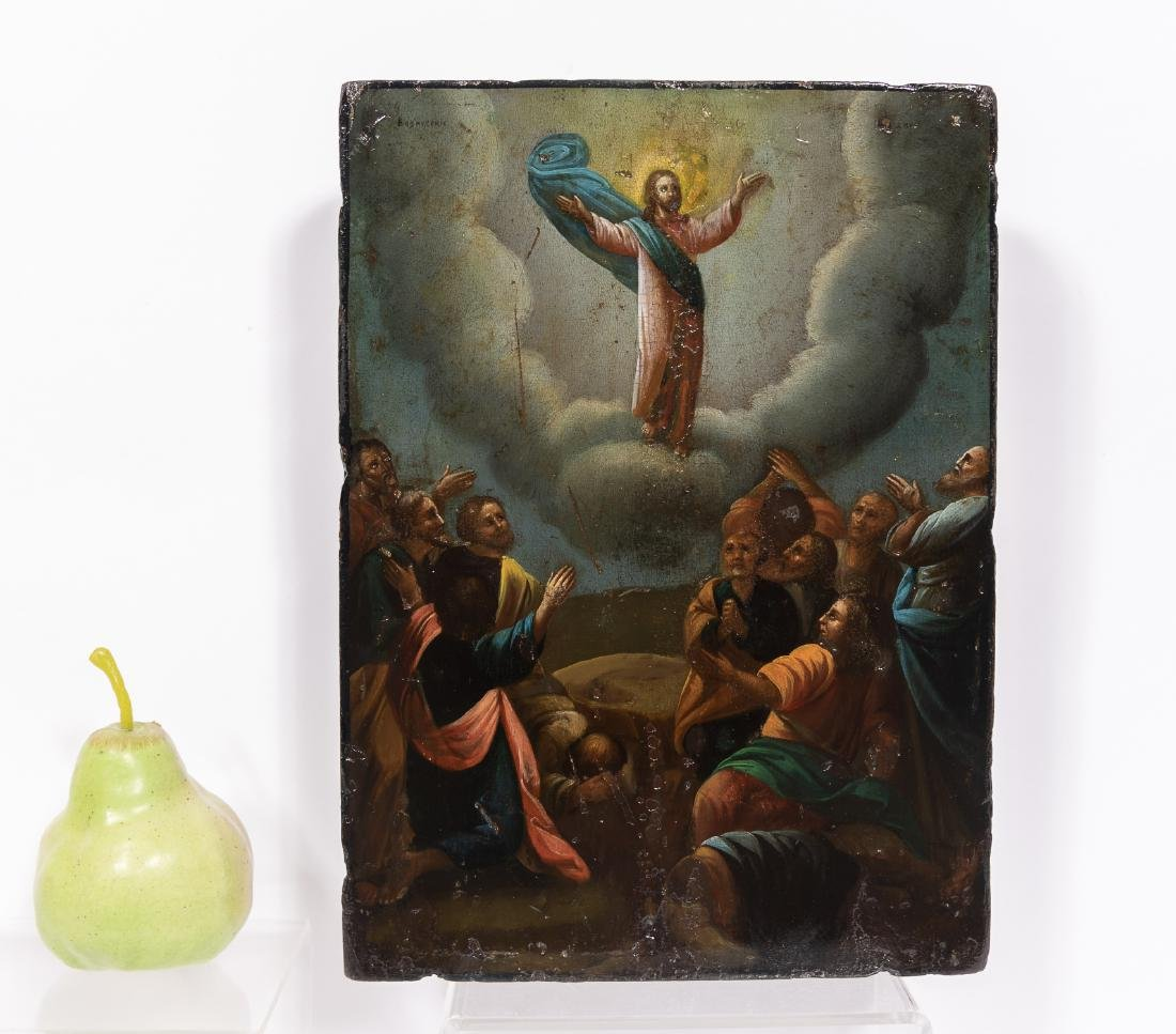 Russian Resurrection of Christ Icon in Shadowbox - 2