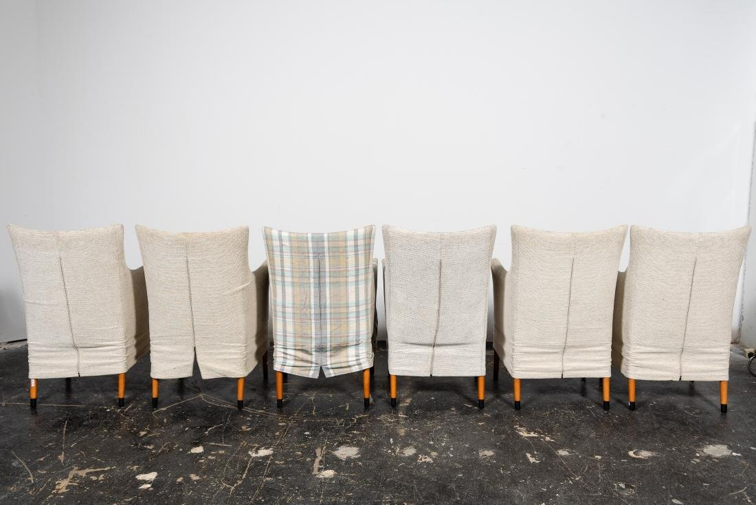 "Set, 6 Giorgetti ""Giorgina"" Arm Chairs - 2"