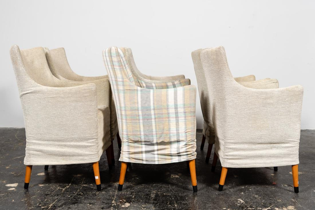 "Set, 6 Giorgetti ""Giorgina"" Arm Chairs - 3"