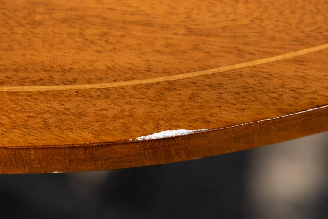 Baker Sheraton Style Inlaid Pembroke Table - 10