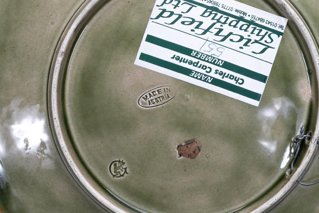 8 Continental Majolica Plates, Various Patterns - 3